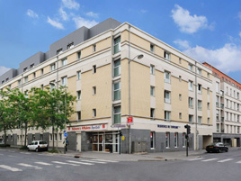 Hotel type residence clairmarais hotel in reims for Appart hotel reims